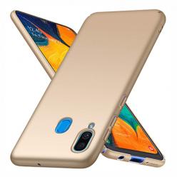 Etui na telefon Samsung Galaxy A30 - Slim MattE - Złoty.