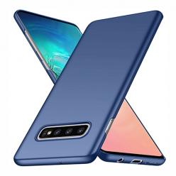 Etui na telefon Samsung Galaxy S10 Plus - Slim MattE - Granatowy.