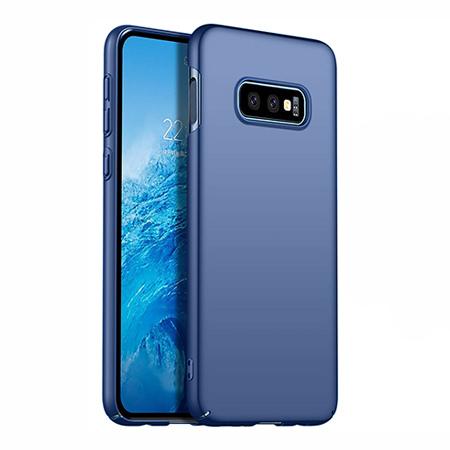 Etui na telefon Samsung Galaxy S10e - Slim MattE - Granatowy.