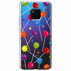 Etui na Huawei Mate 20 Pro - Kolorowe lizaki.