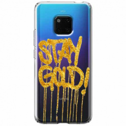 Etui na Huawei Mate 20 Pro - Stay Gold.