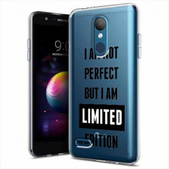 Etui na LG K10 2018 - I Am not perfect…