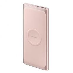 Indukcyjny Power bank Samsung 10 000 mAh - Różowy