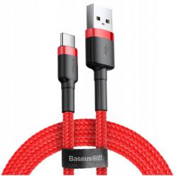Baseus kabel USB Typ-C QUICK CHARGE 3.0 - Czerwony