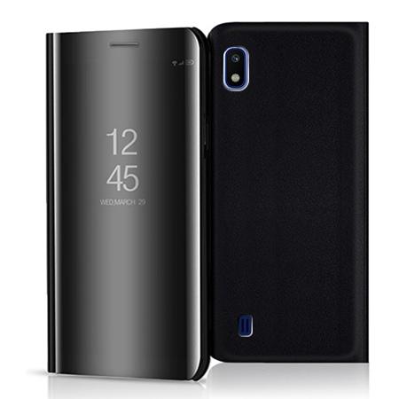 Etui na Samsung Galaxy A10 - Flip Clear View z klapką - Czarny.