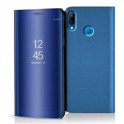 Etui na Huawei P20 Lite - Flip Clear View z klapką - Niebieski.