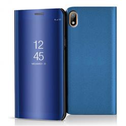 Etui na Huawei Y5 2019 - Flip Clear View z klapką - Niebieski.