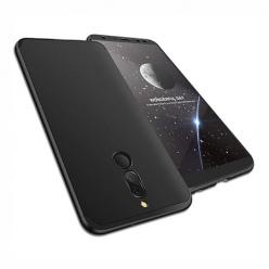 Etui na telefon Huawei Mate 10 Lite - Slim MattE 360 - Czarny.