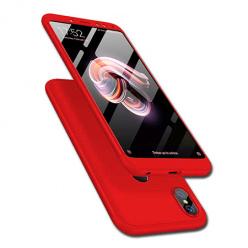 Etui na telefon Xiaomi Redmi Note 5 Pro - Slim MattE 360 - Czerwony.