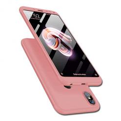 Etui na telefon Xiaomi Redmi Note 5 Pro - Slim MattE 360 - Różowy.