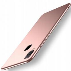 Etui na telefon Galaxy A20e - Slim MattE - Różowy