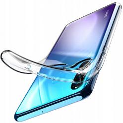Etui na Huawei P30 Lite - silikonowe, przezroczyste crystal case.