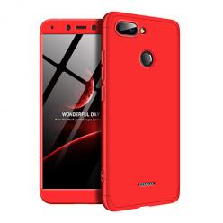 Etui na telefon Xiaomi Redmi 6 - Slim MattE 360 - Czerwony.