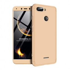 Etui na telefon Xiaomi Redmi 6 - Slim MattE 360 - Złoty.