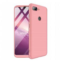 Etui na telefon Xiaomi Mi 8 Lite - Slim MattE 360 - Różowy.