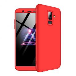 Etui na telefon Samsung Galaxy A6 Plus 2018 - Slim MattE 360 - Czerwony.