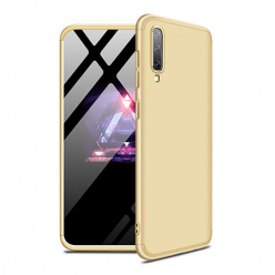 Etui na telefon Samsung Galaxy A70 - Slim MattE 360 - Złoty.