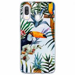 Etui na Samsung Galaxy A20e - Egzotyczne tukany.