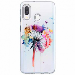 Etui na Samsung Galaxy A20e - Watercolor dmuchawiec.