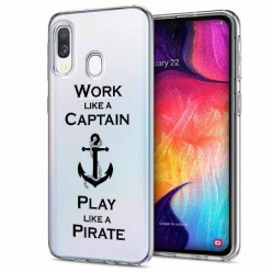 Etui na Samsung Galaxy A20e - Work like a Captain…