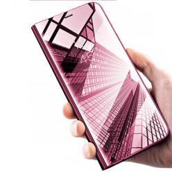 Xiaomi Redmi Note 5 Pro Clear View z klapką - Różowy