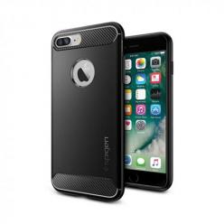 Etui na iPhone 8 Plus Spigen Rugged Armor - Czarny
