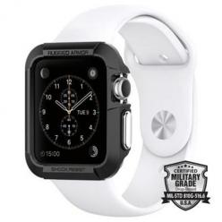 Etui na Apple Watch 1 42mm  Spigen Rugged Armor - Czarny