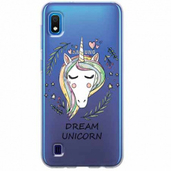 Etui na Samsung Galaxy A10 - Dream unicorn - Jednorożec.