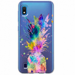 Etui na Samsung Galaxy A10 - Ananasowa eksplozja.