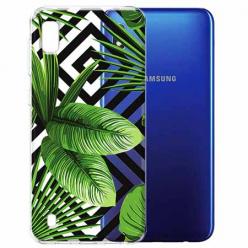 Etui na Samsung Galaxy A10 - Liście bananowca.