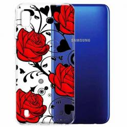 Etui na Samsung Galaxy A10 - Czerwone róże.