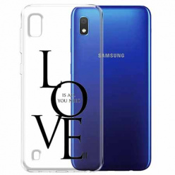 Etui na Samsung Galaxy A10 - All you need is LOVE.