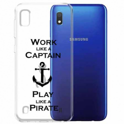 Etui na Samsung Galaxy A10 - Work like a Captain…