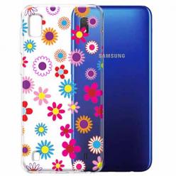 Etui na Samsung Galaxy A10 - Kolorowe stokrotki.