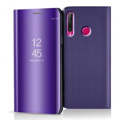 Etui na Huawei Honor 20 Lite - Flip Clear View z klapką - Fioletowy.