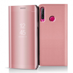 Etui na Huawei Honor 20 Lite - Flip Clear View z klapką - Różowy.