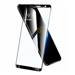 Huawei P Smart 2018 hartowane szkło 5D Full Glue - Czarny.
