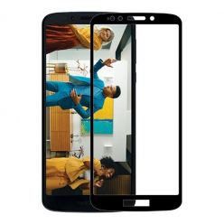 Motorola Moto G7 Power hartowane szkło 5D Full Glue - Czarny.