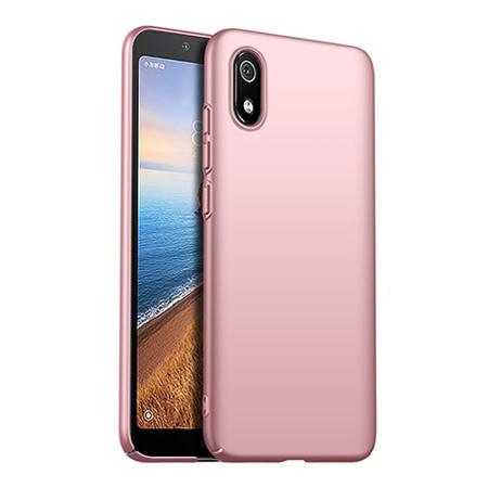 Etui na telefon Xiaomi Redmi 7A - Slim MattE - Różowy.