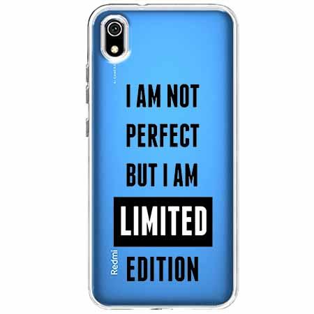 Etui na Xiaomi Redmi 7A - I Am not perfect…