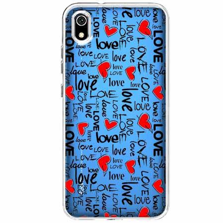 Etui na Xiaomi Redmi 7A - Love, love, love…