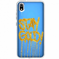 Etui na Xiaomi Redmi 7A - Stay Gold.