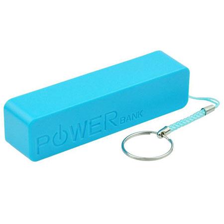 Power bank Stick ładowarka zewnętrzna 2600 mAh - Niebieski
