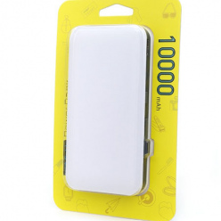 Power bank ładowarka Slim 10 000 mAh - Biały