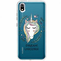 Etui na telefon Huawei Y5 2019 - Dream unicorn - Jednorożec.