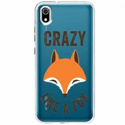 Etui na telefon Huawei Y5 2019 - Crazy like a fox.