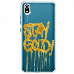 Etui na telefon Huawei Y5 2019 - Stay Gold.