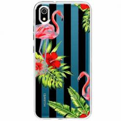 Etui na telefon Huawei Y5 2019 - Opowieści flamingów.