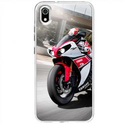 Etui na telefon Huawei Y5 2019 - Motocykl ścigacz