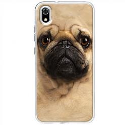 Etui na telefon Huawei Y5 2019 - Pies Szczeniak face 3d